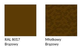 technologia kolory farb RAL_8017